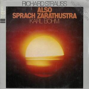 Also Sprach Zarathustra - Vinile LP di Richard Strauss,Karl Böhm