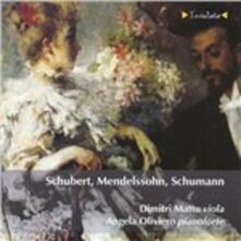 Sonata per arpeggione e pianoforte - CD Audio di Franz Schubert
