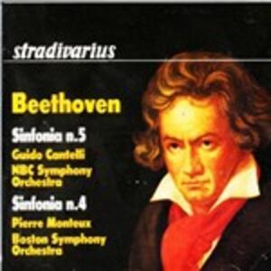 Sinfonia n.4 - CD Audio di Ludwig van Beethoven,Pierre Monteux