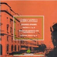 Sinfonia n.1 - CD Audio di Johannes Brahms,Guido Cantelli