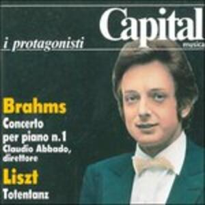 Concerto per pianoforte n.1 op.15 in Re - CD Audio di Johannes Brahms