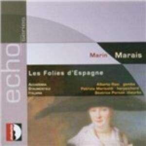 Folies d'Espagne - CD Audio di Marin Marais