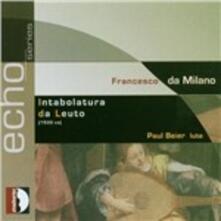 Intabolatura da leuto - CD Audio di Francesco Da Milano