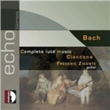 Musica completa per chitarra - CD Audio di Johann Sebastian Bach