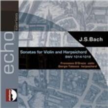 Sonate per violino e pianoforte complete - CD Audio di Johann Sebastian Bach