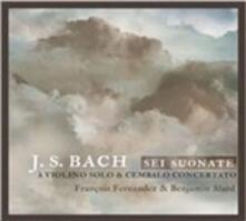 6 Sonate per violino e cembalo - CD Audio di Johann Sebastian Bach,Philippe Pierlot,Benjamin Alard,François Fernandez
