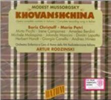 Khovanshchina - CD Audio di Modest Petrovich Mussorgsky