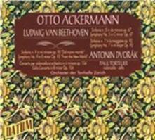 Concerti per violoncello - CD Audio di Ludwig van Beethoven,Antonin Dvorak,Paul Tortelier,Otto Ackermann
