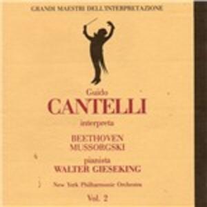 Concerto per pianoforte n.5 - CD Audio di Ludwig van Beethoven,Walter Gieseking