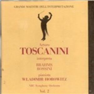 Concerto per Piano N.2 Op 83 in si - CD Audio di Johannes Brahms,Vladimir Horowitz,Arturo Toscanini