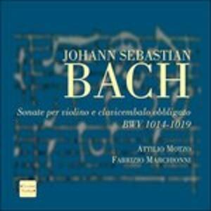 Sonate per violino e clavicembalo obbligato - CD Audio di Johann Sebastian Bach