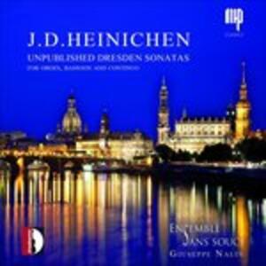 Unpublished Dresden Sonatas - CD Audio di Johann David Heinichen