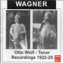 Recording 1922-1925 - CD Audio di Richard Wagner