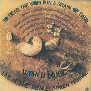 To Hear the World in a Grain of Sand - CD Audio