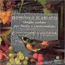 Sonate per Flauto e Cemba - CD Audio di Alessandro Scarlatti