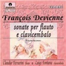 Sonata per Flauto e Cembalo n.5 in Sol - CD Audio di François Devienne