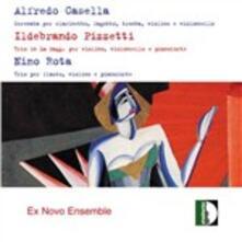 Serenate e trii - CD Audio di Alfredo Casella,Ildebrando Pizzetti
