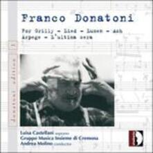Chamber Music '60-'80 - CD Audio di Franco Donatoni