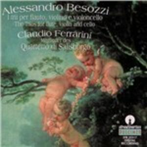 Trii per flauto, violino e violoncello - CD Audio di Alessandro Besozzi