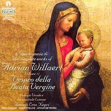 Vespro della Beata Vergine - CD Audio di Adrian Willaert