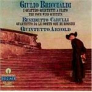 Quintetto per Fiati n.1 Op 124 - CD Audio di Giulio Briccialdi