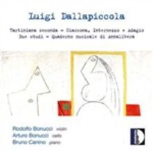 Quaderno musicale di Annalibera - Tartiniana seconda - Ciaccona, intermezzo e adagio - CD Audio di Luigi Dallapiccola