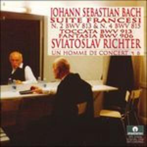 Suites francesi - CD Audio di Johann Sebastian Bach