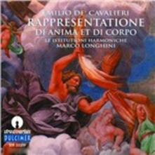 Rappresentatione di Anima et di Corpo - CD Audio di Emilio De Cavalieri