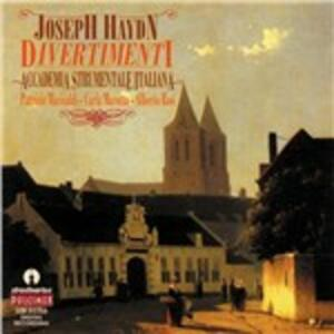 Divertimento Hob.xvc1 - CD Audio di Franz Joseph Haydn