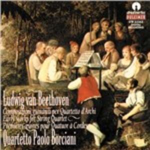 Quartetto per Archi H32 - CD Audio di Ludwig van Beethoven