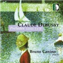 Preludi libro I - CD Audio di Claude Debussy