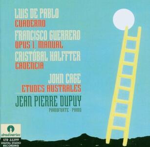 Etudes australes - CD Audio di John Cage,Jean Pierre Dupuy