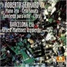 Trio con Pianoforte - CD Audio di Robert Gerhard
