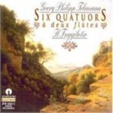 Quartetto a Due Flauti e a Due Violoncelli n.1 in re - CD Audio di Georg Philipp Telemann