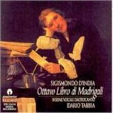Ottavo Libro di Madrigali - CD Audio di Sigismondo D'India