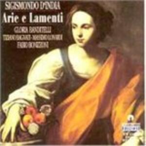 Arie e Lamenti - CD Audio di Sigismondo D'India