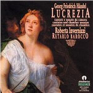 Lucrezia - CD Audio di Georg Friedrich Händel,Roberta Invernizzi