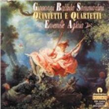 Quintetto Per Archi.. - CD Audio di Giovanni Battista Sammartini,Cinzia Barbagelata