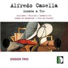 Sonata a tre - CD Audio di Alfredo Casella