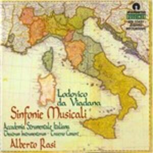 Sinfonie musicali op.18 - CD Audio di Lodovico da Viadana