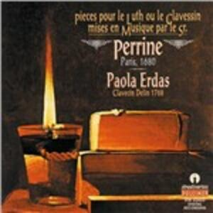 Musica per cembalo - CD Audio di Paola Erdas