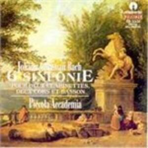 Sechs Sinfonien - CD Audio di Johann Christian Bach