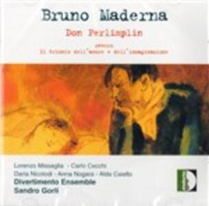 Don Perlimplin - CD Audio di Bruno Maderna