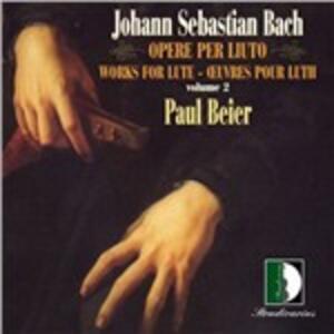 Opera per Liuto vol.2 - CD Audio di Johann Sebastian Bach
