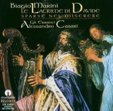 Lacrime di Davide sparse nel miserere - CD Audio di Biagio Marini
