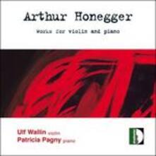 Sonata per Violino e Pianoforte n.1 H17 - CD Audio di Arthur Honegger