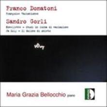 Studi in Forma di Variazione - CD Audio di Sandro Gorli