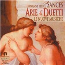 Arie e Duetti - CD Audio di Giovanni Felice Sances