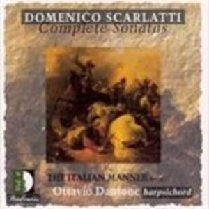 La Maniera Italiana Parte Seconda - CD Audio di Domenico Scarlatti