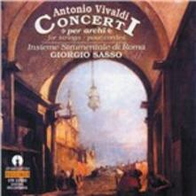 Concerto Rv130 per Archi in mi - CD Audio di Antonio Vivaldi